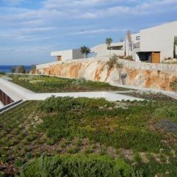 Kaplankaya Canyon Ranch SPA Hotel Yeşil Çatı Projesi